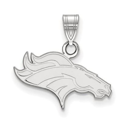 Picture of Denver Broncos Sterling Silver Small Pendant