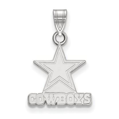 Picture of Dallas Cowboys Sterling Silver Small Pendant