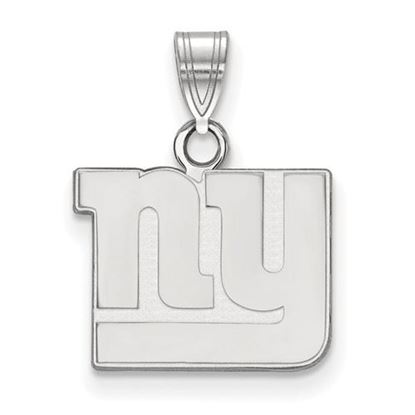 Picture of New York Giants Sterling Silver Small Pendant