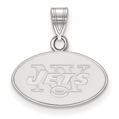 Picture of New York Jets Sterling Silver Small Pendant