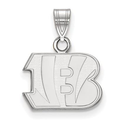 Picture of Cincinnati Bengals Sterling Silver Small Pendant
