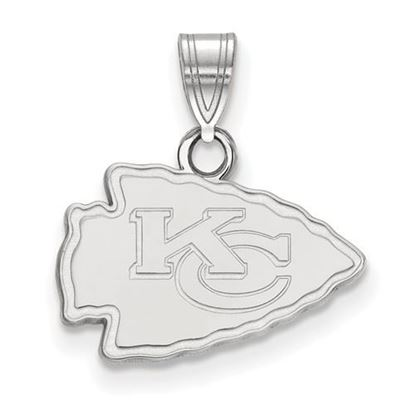Picture of Kansas City Chiefs Sterling Silver Small Pendant