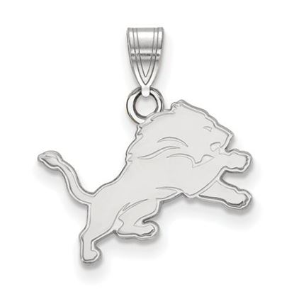 Picture of Detroit Lions Sterling Silver Small Pendant