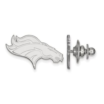 Picture of Denver Broncos Sterling Silver Lapel Pin