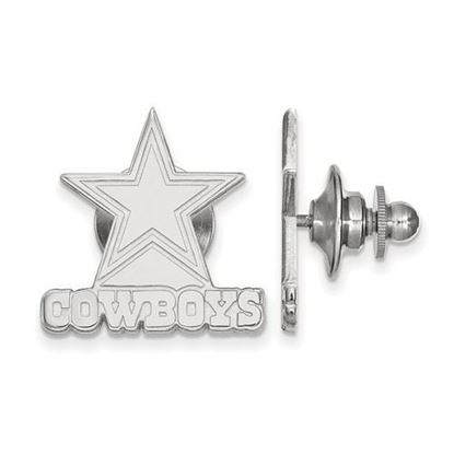 Picture of Dallas Cowboys Sterling Silver Lapel Pin
