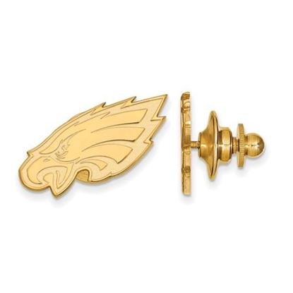 Picture of Philadelphia Eagles Sterling Silver Gold Plated Lapel Pin