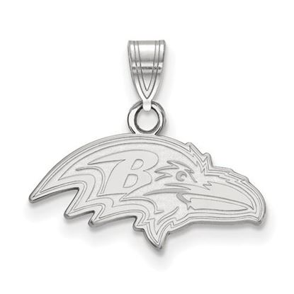 Picture of Baltimore Ravens Sterling Silver Small Pendant