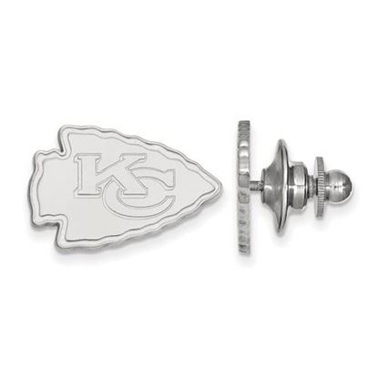 Picture of Kansas City Chiefs Sterling Silver Lapel Pin
