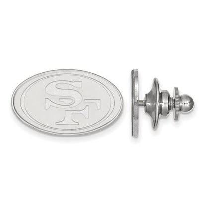 Picture of San Francisco 49ers Sterling Silver  Lapel Pin