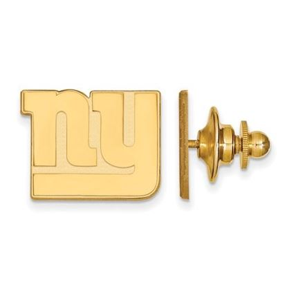 Picture of New York Giants Sterling Silver Gold Plated Lapel Pin