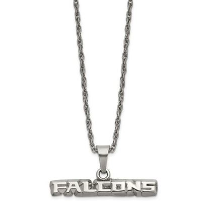 Picture of Atlanta Falcons Stainless Steel Pendant on Chain