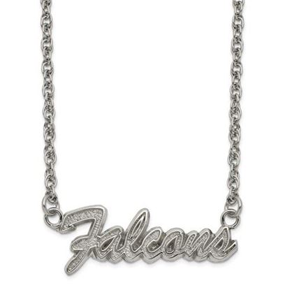 Picture of Atlanta Falcons Stainless Steel Script Necklace