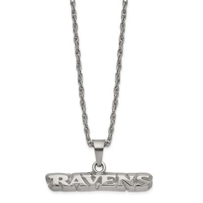 Picture of Baltimore Ravens Stainless Steel Pendant on Chain