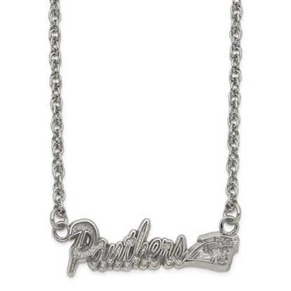 Picture of Carolina Panthers Stainless Steel Script Necklace