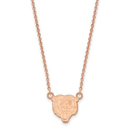 Picture of Chicago Bears Sterling Silver Rose Gold-plated Pendant Necklace