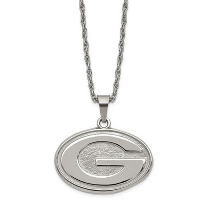 Picture of Green Bay Packers Stainless Steel Pendant on Chain