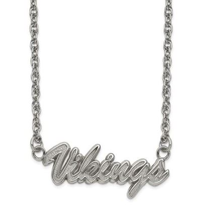 Picture of Minnesota Vikings Stainless Steel Script Necklace