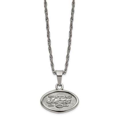 Picture of New York Jets Stainless Steel Pendant on Chain