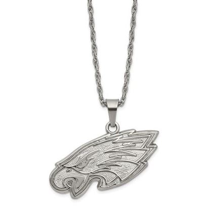Picture of Philadelphia Eagles Stainless Steel Pendant on Chain