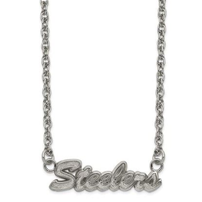 Picture of Pittsburgh Steelers Stainless Steel Script Necklace