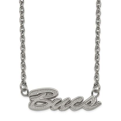 Picture of Tampa Bay Buccaneers Stainless Steel Script Necklace
