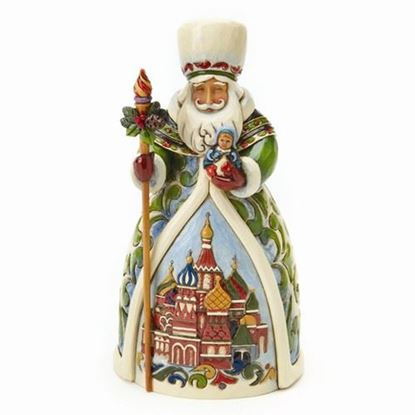Russian Santa Figurine-JIM SHORE