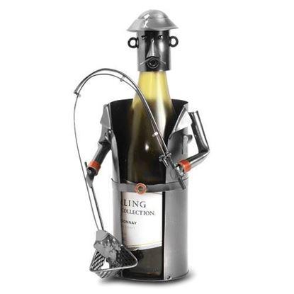 Sport Fishing Metal Wine Caddy