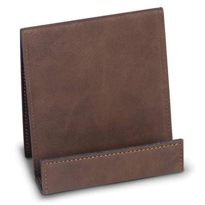 Smart Phone Cradle Rustic Brown Leatherette