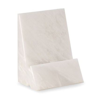 Phone Tablet Holder White Marble