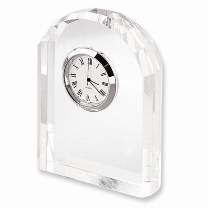 Optic Crystal Arch Clock