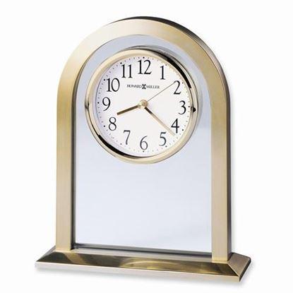 Imperial Brass Finish Quartz Table Clock