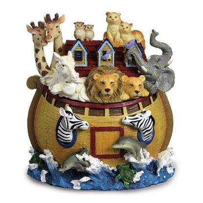 Noah's Ark Rotating Figurine