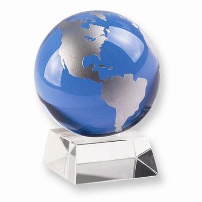 Badash Crystal Blue Globe