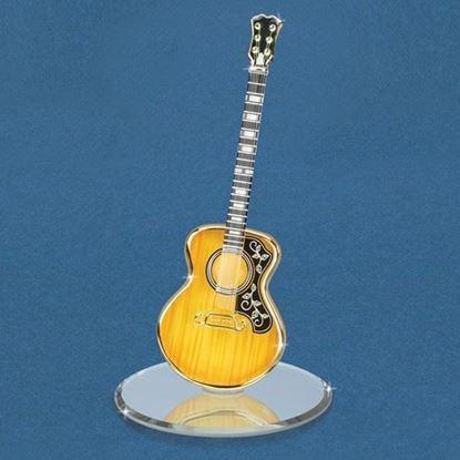 Glass Baron® Acoustic Guitar Figurine