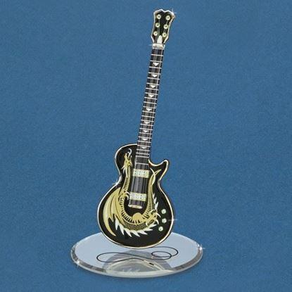 Glass Baron® Dragon Guitar Figurine