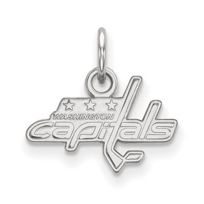 Picture of Washington Capitals® 10k White Gold Extra Small Pendant