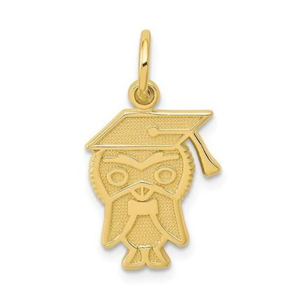 Picture of 10K Yellow Gold Graduation Charm