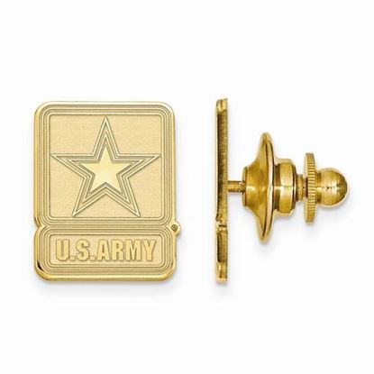 U.S. Army Gold-plated Sterling Silver Lapel Pin