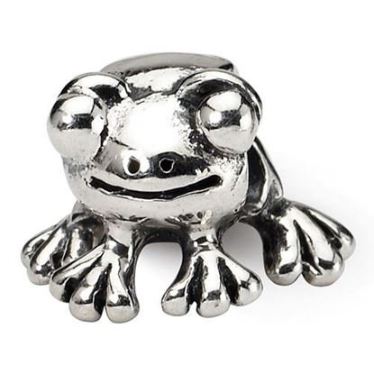 Picture of Sterling Silver Frog Bead