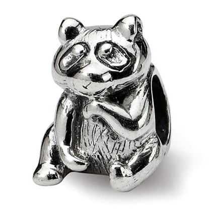 Picture of Sterling Silver Racoon Bead
