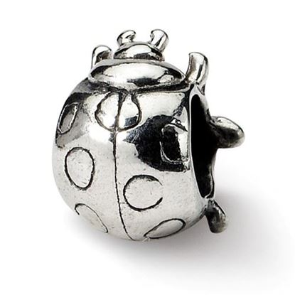 Picture of Sterling Silver Ladybug Bead