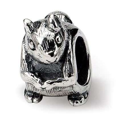 Picture of Sterling Silver Squirrel Bead