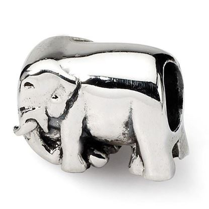Picture of Sterling Silver Elephant Bead
