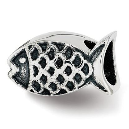 Picture of Sterling Silver Fish Bead