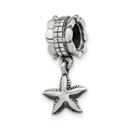 Picture of Sterling Silver Starfish Dangle Bead