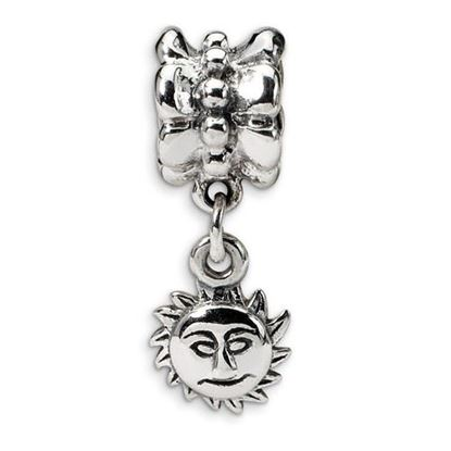 Picture of Sterling Silver Sun Dangle Bead