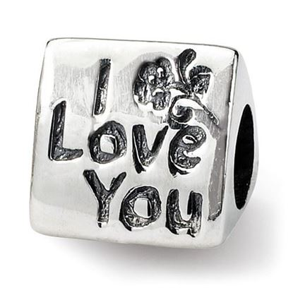 Picture of Sterling Silver Mom Trilogy Bead