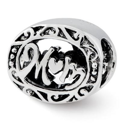 Picture of Sterling Silver Mom Bead
