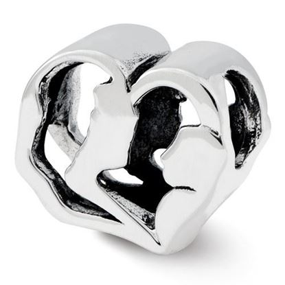 Picture of Sterling Silver Mother and Baby Bead