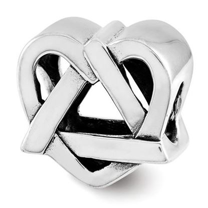 Picture of Sterling Silver Adoption Symbol Bead